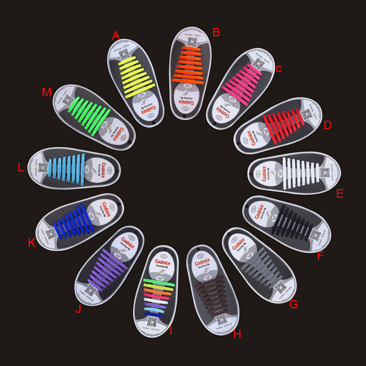 200PARS/LOT Unisex Athletic Running No Tie Shoelaces Elastic Silicone Shoe Lace All Sneakers Fit Strap No tie 1PAIR=16PCS 16pcs set 2017 new sneakers fit strap colorful shoelaces design lock flat lazy no tie shoelace elastic fit for all sneakers