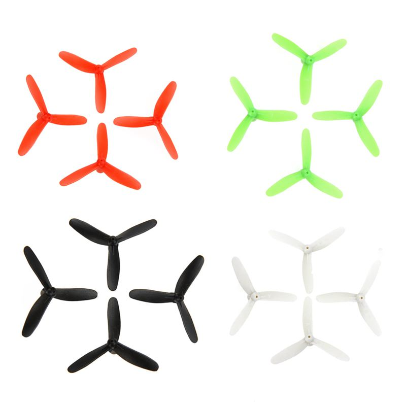 Rc Drone Accessories Upgraded 3-leaf Propellers For Cheerson Cx-10 Cx-10a Cx-10c Cx-10w Rc Quadcopter Kits Propeller Blades f09166 10 10pcs cx 20 007 receiver board for cheerson cx 20 cx20 rc quadcopter parts