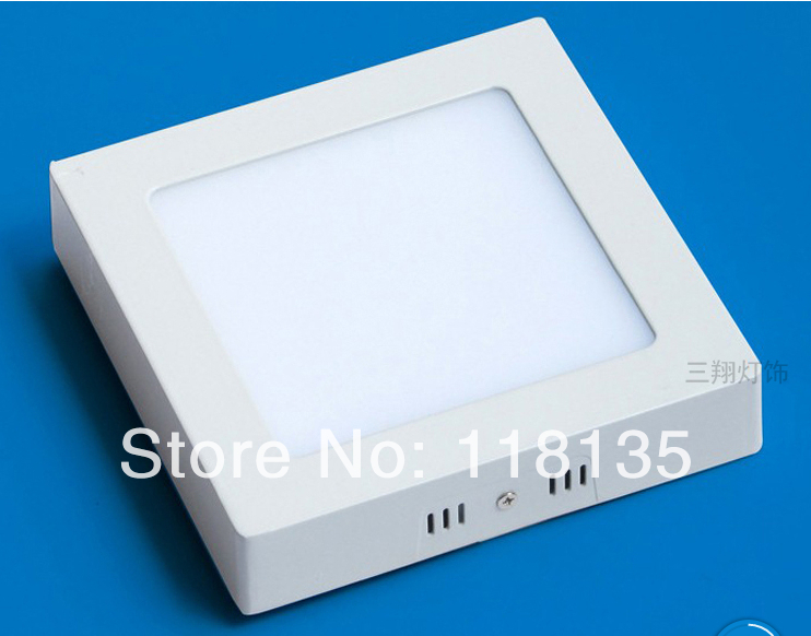 LED panel light 18W surface mounted light 8inch high lumens downlight square|downlight 3w|downlight e27|downlight fitting - title=