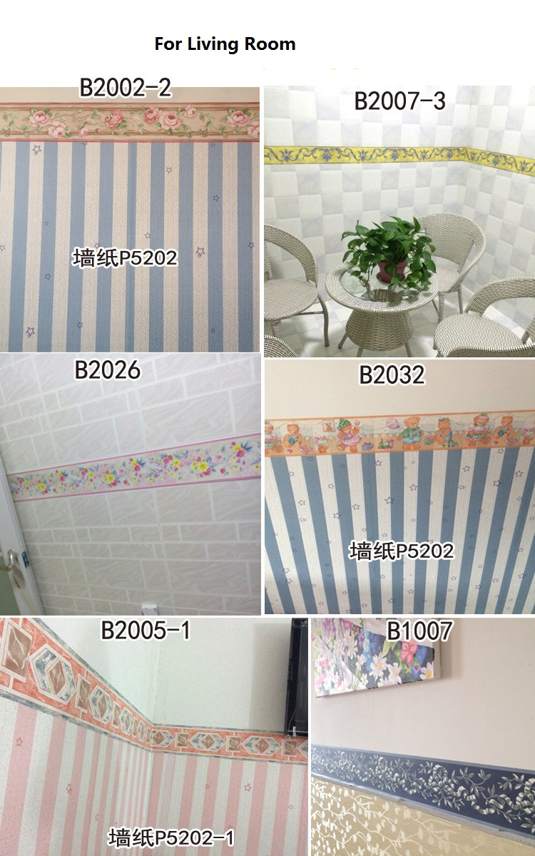 10Meter Fashion Self Adhesive baseboard Waterproof Bathroom ...
