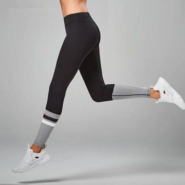 b7f0d45351750 Fitness Yoga Sports Leggings Women's Printed Yoga Pants Running Tights  Elastic Quick Dry Jogging Moto Leggings