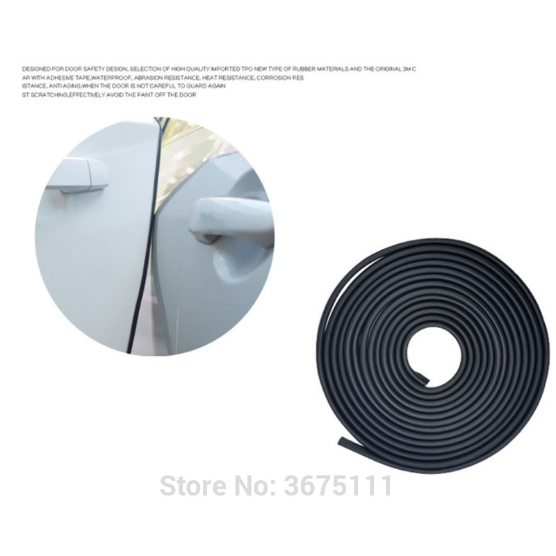 5M Car door edge protection anti-rubbing strip Accessories Car-styling for Land Rover discovery 3 4 freelander 2 defender a9 a8