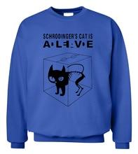 """""""Schrodinger's Cat is Alive"""" Sweatshirt – 8 Colors"""