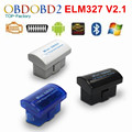 Última V2.1 Super MINI ELM327 Bluetooth OBD/OBD2 Wireless ELM 327 Multi-Idioma 12 Tipos Funciona EN Android par/PC