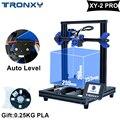 Набор обновленных 3d принтеров TRONXY XY-2 PRO Printing 255X255X260mm быстрая сборка автоматический уровень продолжение печати датчик накаливания