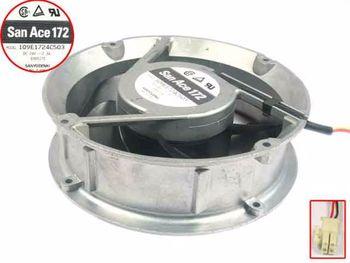 Sanyo Denki 109E1724C503 DC 24V 2.3A 172x172x51mm 3-wire Server Cooling Fan