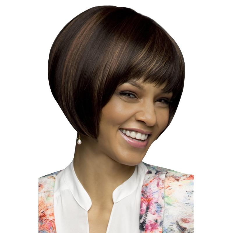 Incredible Online Get Cheap Short Fringe Hairstyle Aliexpress Com Alibaba Short Hairstyles Gunalazisus