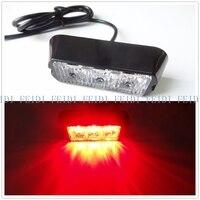 Free Shipping Video New Red Brake Flashing Lights 3led Car Truck Flash Strobe Emergency Warning Light