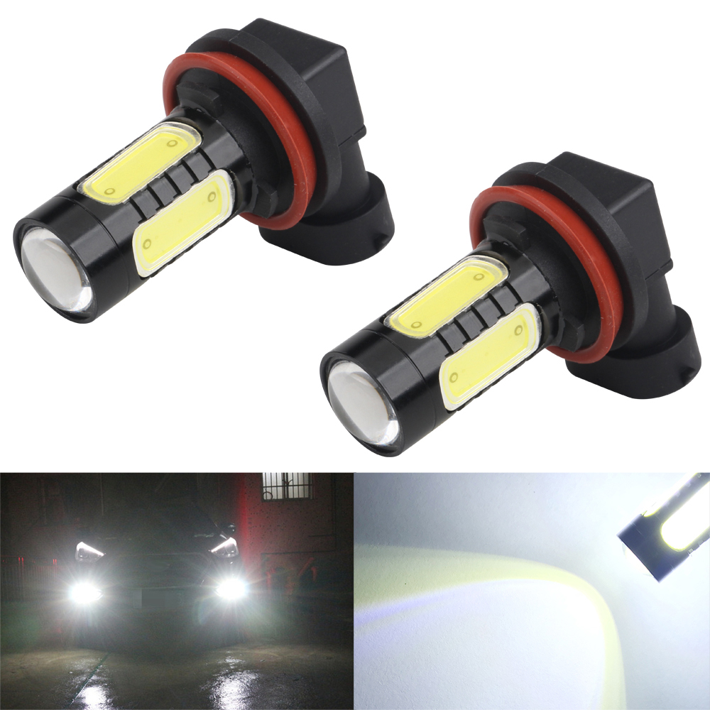 Helpful 2pcs Car Led H4 H7 H8 H11 9006 Hb4 9005 Hb3 Fog Lights Bulb 7.5w Cob White Car Headlight Bulb Driving Led Lamps 12v Car Lights