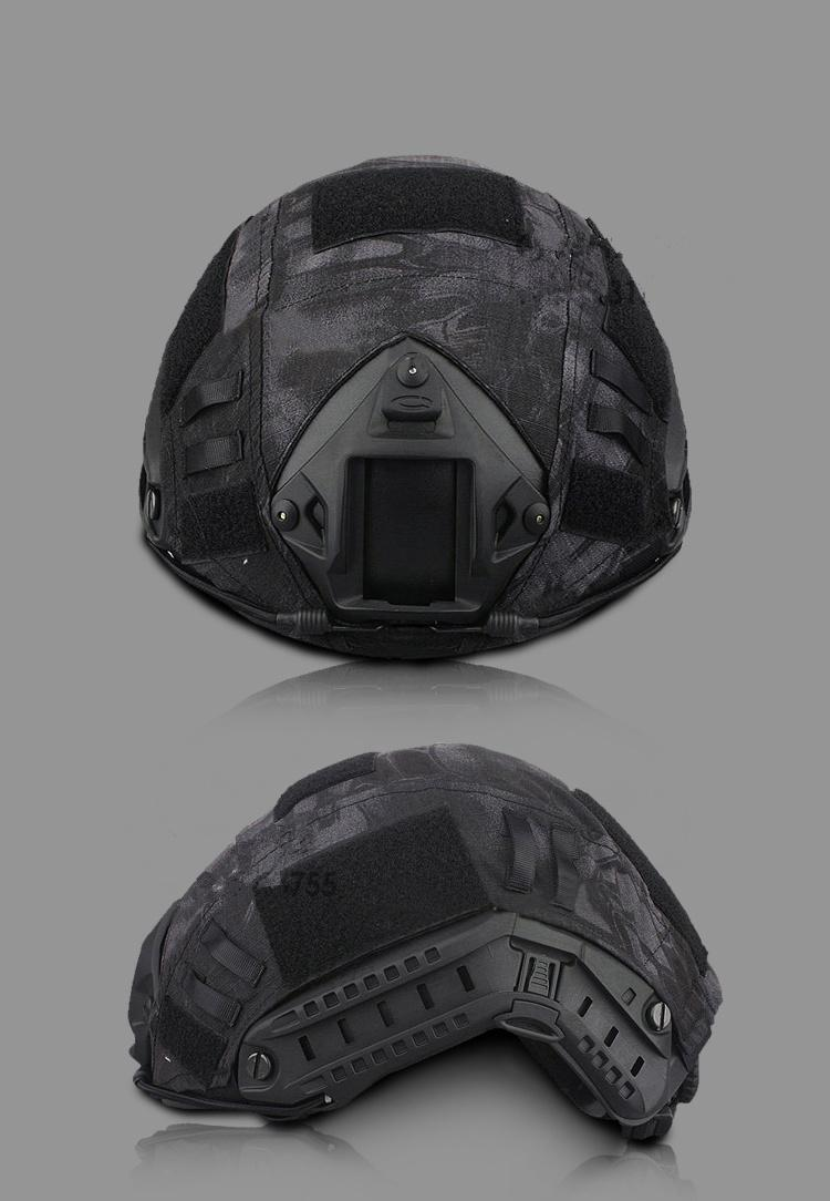 Emers helmet cover Paintball Wargame Army Airsoft Tactical Military Helmet Cover For Fast Helmet cover helmet cloth 6 colors