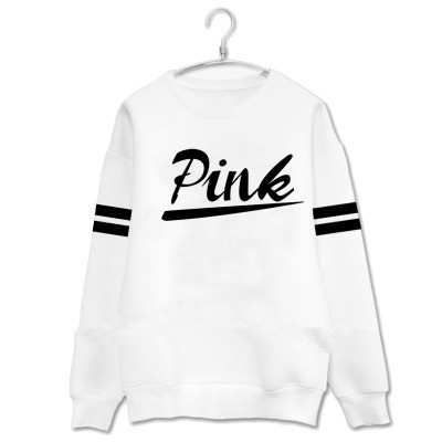 Girls with the same version of the Round neck men and women spring and autumn Multi-color Hooded sweatshirt with hoodie.