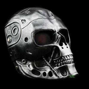 Image 2 - Halloween COS Terminator Helmet Masks Horror CS Paintball Ghost Creepy Resin Mask Masquerade Skull Movie Party Cosplay Props
