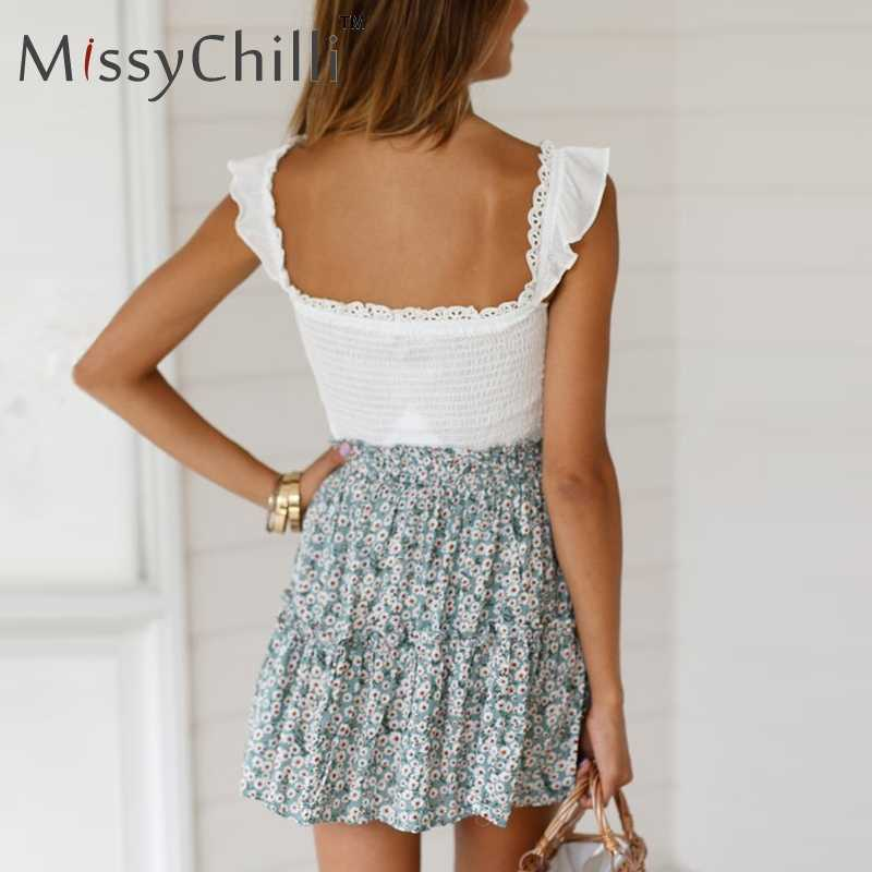 9adf0ec85ca ... MissyChilli Sexy deep v neck casual white crop top for Women bodycon  backless club tank tops ...