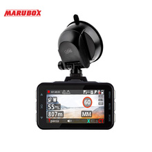 Car DVR Radar-Detector Auto-Video-Registrator-Recorder Dash-Camera Marubox M610r Portable