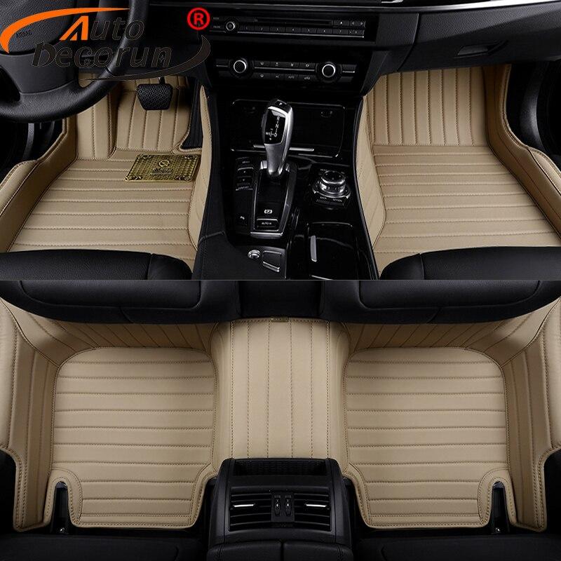 Autodecorun Custom Fit Car Mats For Mini Paceman Clubman