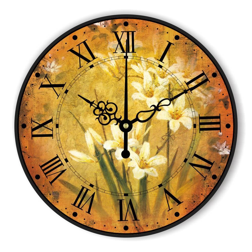 2c69d0f445b Decoração Relógio Relógio de Parede antigo Com Número Romano Retro  Decoração de Casa Mais Tranquila Relógio De Parede Design Criativo  Presentes relogio ...