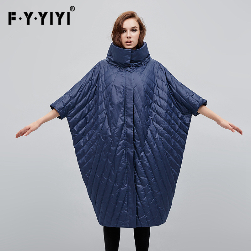 Зимняя куртка Для женщин Bat Длинные рукава Для женщин пуховик пальто casaco kaban манто Femme Hiver корейский по сниженным ценам Inverno