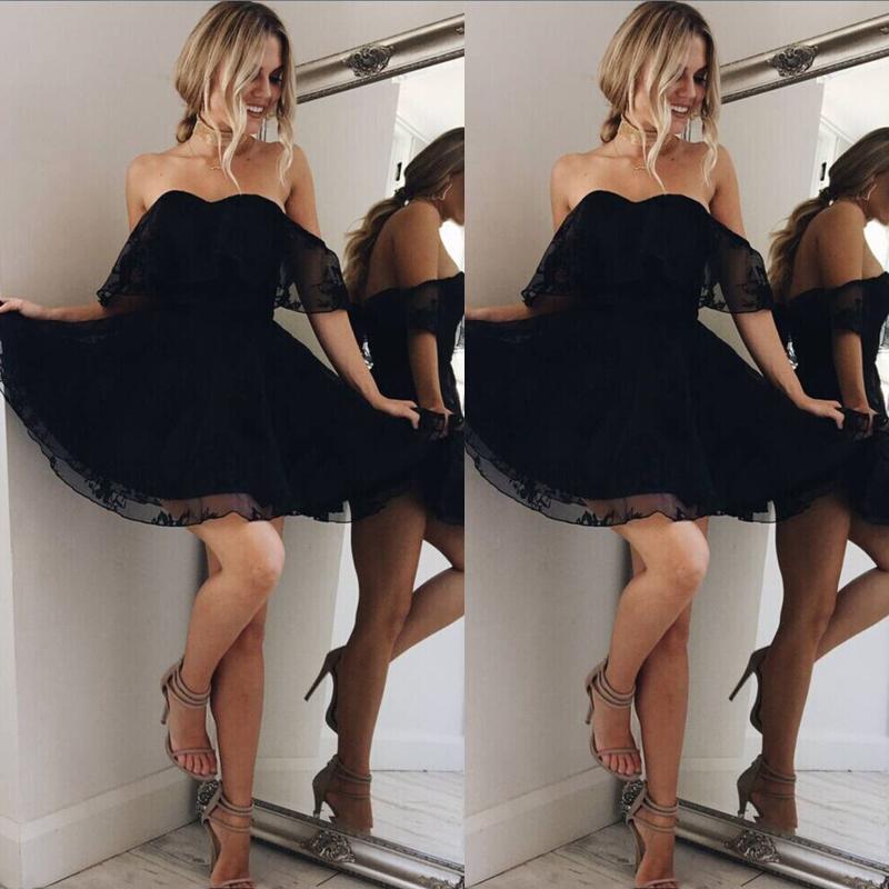 HTB1JO41csnI8KJjSsziq6z8QpXaI - FREE SHIPPING Women Formal Lace Mini Dress Prom JKP317