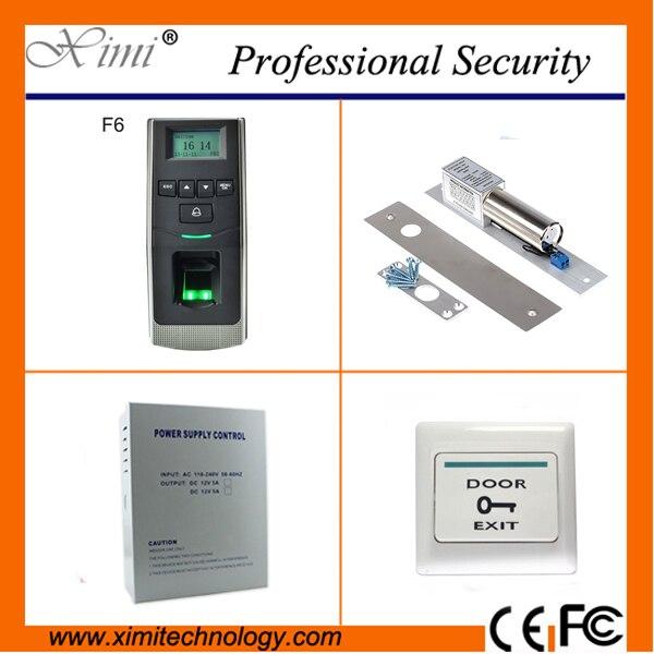 Biometric access control fingerprint reader 500 fingerprint users TCP/IP free software linux system access control kit