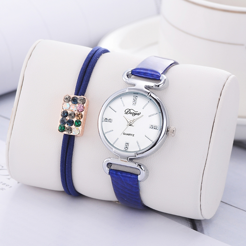 Best buy ) }}Luxury Women Wrist Watches Bracelet Set Fahison Ladies Rhinestone Gift Creative
