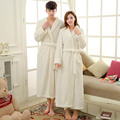 Winter Coral Fleece Robes For Women Bathrobe Robes Dressing Gowns For Women Man Bathrobes Peignoir Femme Soie Albornoz Mujer