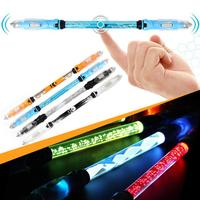 LED Pen Spinner Glow Hand Fidget Stress Relief Stress Spinning Toy Gifts
