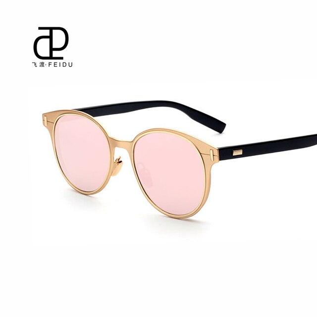 FEIDU Cat Eye Fashion High Quality Sunglasses Women Retor Alloy Frame Sun  Glasses For Men Eyewear Glasses Oculos De Sol With Box 24a8d4b856