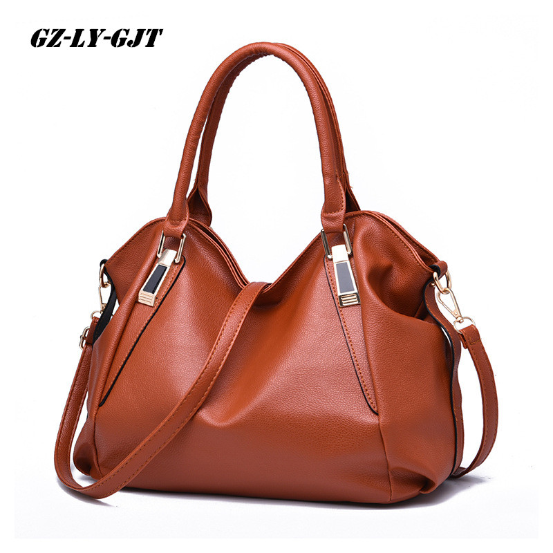 GZ LY GJT 9 Color Fashion Designer Women Handbag Female PU Leather Bag Office Ladies Portable