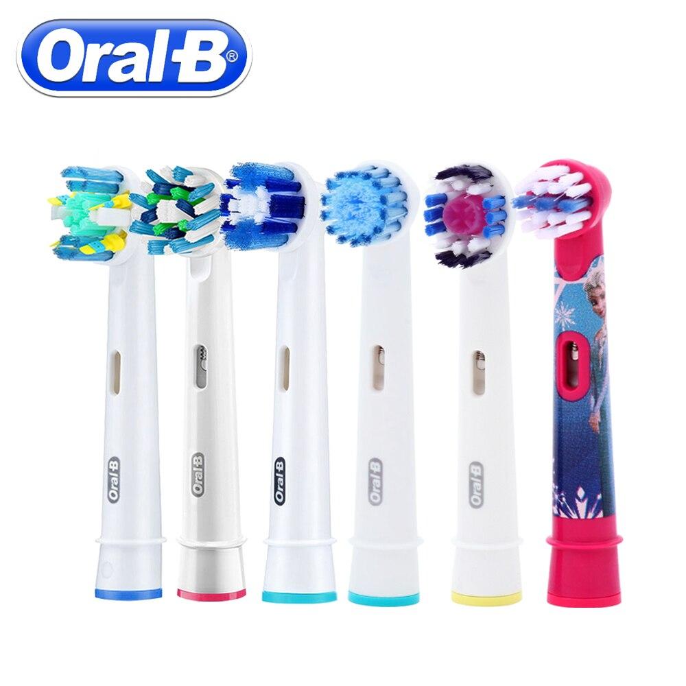 1 unid Oral B cepillo de dientes eléctrico cabeza sensible reemplazo cabeza de diente para Oral B Cruz acción cabeza cepillo de dientes eléctrico