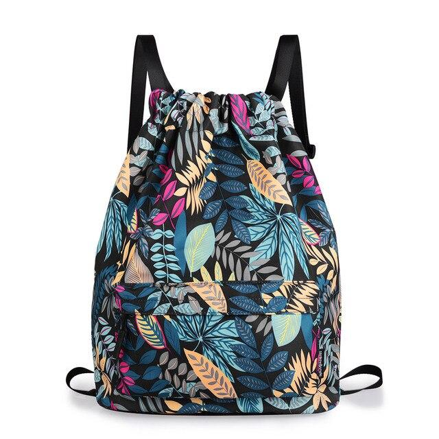 2018 Newest!!! fashion Women Backpack 3D printing travel softback women drawstring  bag School