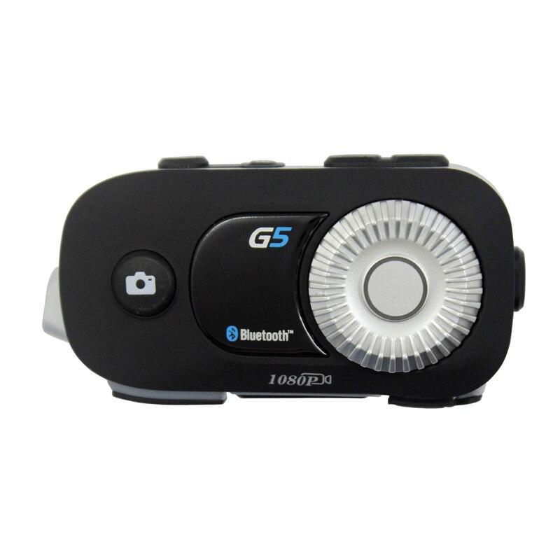 G5Pro 500m 4 cavaliers groupe interphone HD 1080P enregistreur vidéo caméra moto Bluetooth casque casque pour Fulll visage casque