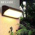 BEIAIDI 18 Вт 30 Вт Современный наружный светодиодный настенный светильник с PIR датчиком движения водонепроницаемый садовый светильник для прох...