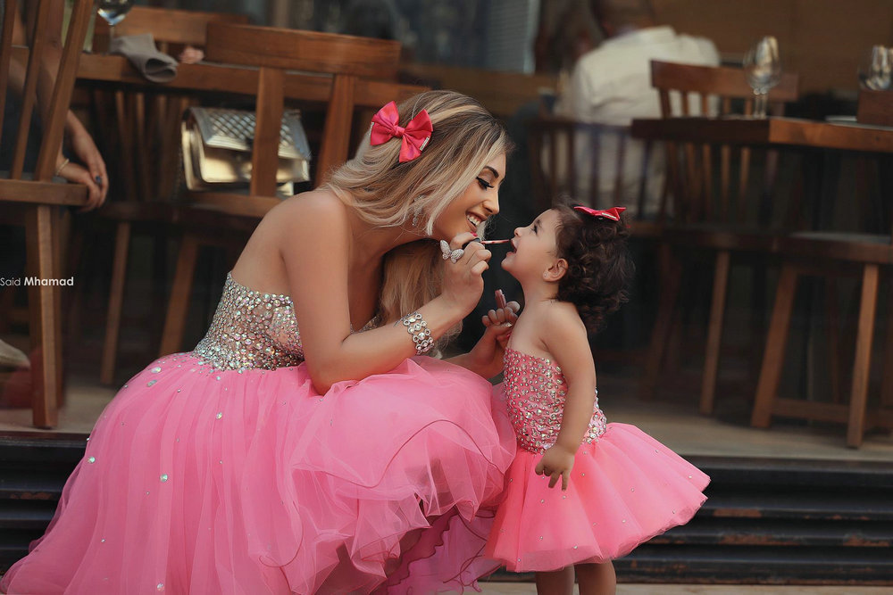 Mother And Daughter Matching Formal Dresses Wedding Gallery