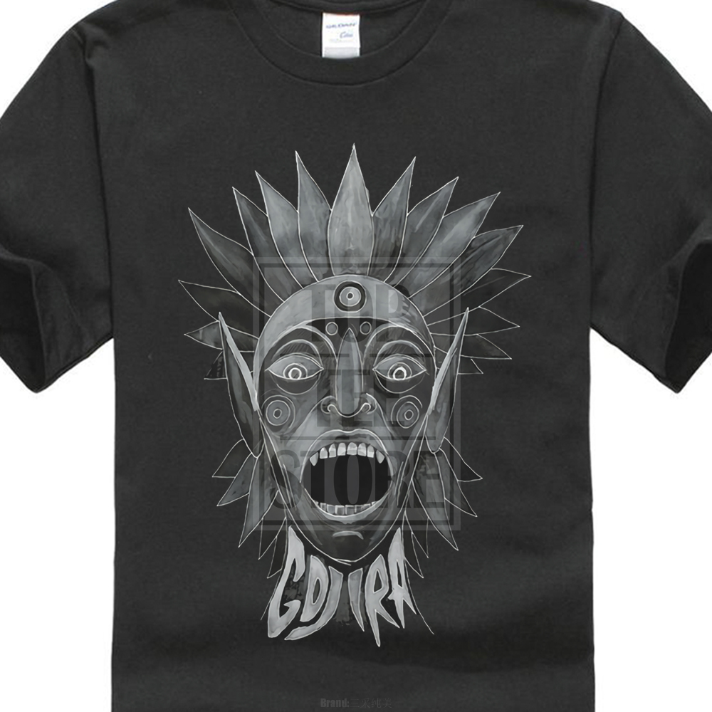 2017 Hot Sales Gojira Scream Head T Shirt The Link From Mars To Sirius New Merchandise Printed T Shirt Hipster MenS Tops
