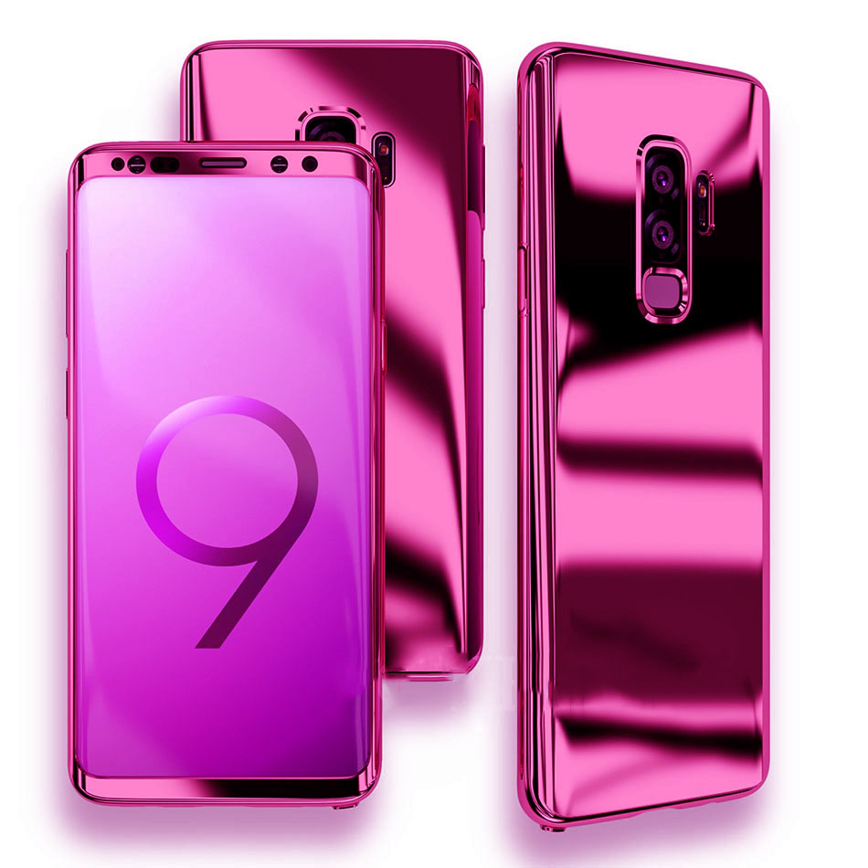 reputable site eac4e 6bedc Phone Case - Bling Mirror 360 Protection Cover For Samsung S9/S9+ With Free  Screen Protector