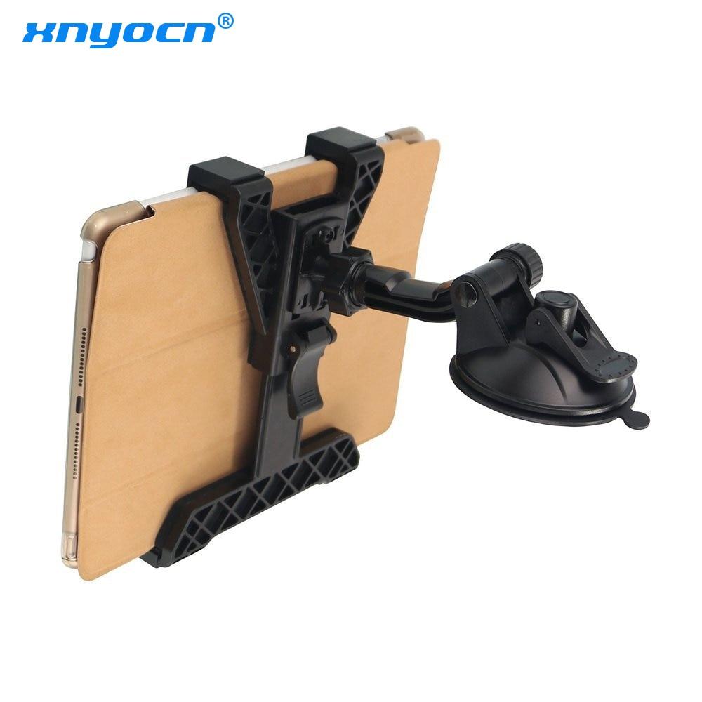 Nova 7 8 9 10 polegada Tablet soporte tablet desktop Windshield Car mount cradle Suporte para Carro Universal Para iPad Stand para Samsung Tab|Suporte p/ celulares| |  -