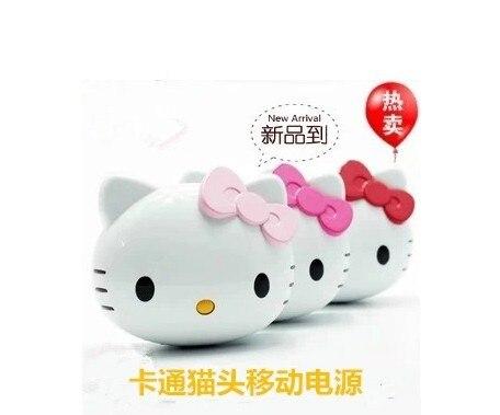 bilder für Factory outlets: cartoon Kitty Hallo mobile strom handy universal mobile lade schatz 8800 Ma