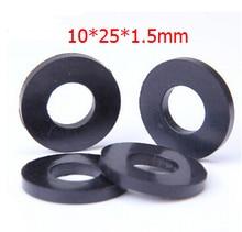 где купить 100pcs freeshipping Oil resistant rubber sealing washer faucet washer-10x25x1.5mm(Inner d:10mm,d:25mm Thickness:1.5mm) по лучшей цене