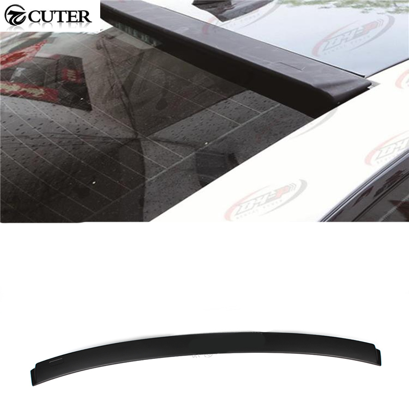 ФОТО High quality 2 Series F22 ABS Rear roof lip Spoiler Car Top Lip Spoiler For BMW F22 228i M235i 220i 2014