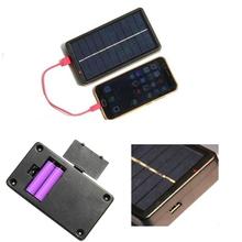 400mA przenośna bateria słoneczna zewnętrzna ładowarka baterie Travel Backup bateria Power Bank dla IphoneXs XR dla Samsung xiaomi tanie tanio 2x18650 170x 95 x 25MM wxml03C81110 Ogniwa słoneczne Amorficznego krzemu Zerosky