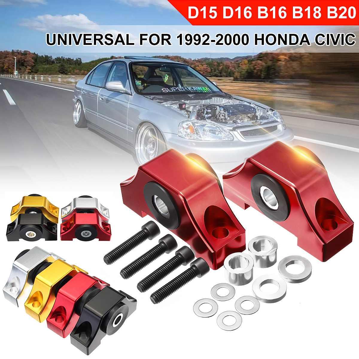 Un ensemble de supports de couple universels pour moteur à billette pour Honda pour la série Civic 1992-2000 B/D pour ACURA Integra 1994-2001