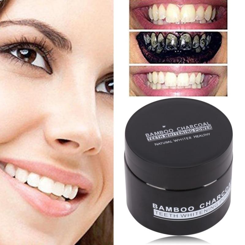 20g aktīvās ogles zobu balināšana organiskā dabīgā zobu pasta - Mutes higiēna - Foto 2