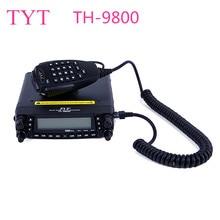 TYT TH-9800 50W Mobile Radio Transceiver VHF UHF Quad Band Car Radio Station CB Walkie talkie for truckers Ham Radio