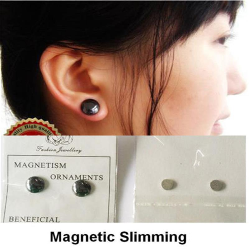 Bio Magnetic Health care Earring Weight Loss Earrings Slimming Stud Earring кофр для хранения hausmann цвет салатовый белый 50 x 40 x 20 см