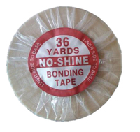No shine 36 yards long time water proof tape Super quality blue tape hair extension tape hair tape