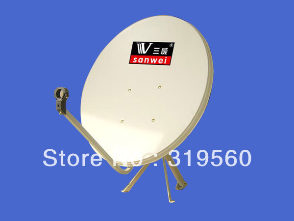 ФОТО KU band satellite antenna/ satellite dish 90CM/ steel panel/wall mount KU-90