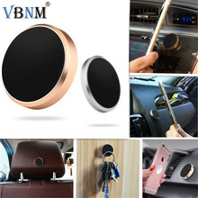 VBNM Mini Magnetic Mobile Phone Holder Car Dashboard Bracket Cell Phone Holder Stand For iPhone Xiaomi Redmi Magnet Mount Holder