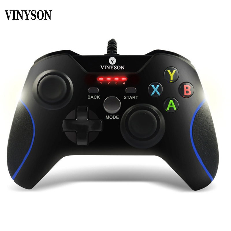 VINYSON Gamepad Game Joystick Wired PS3 Controller Android Compatible with Joystick Gamepad PC TV Box Smartphone