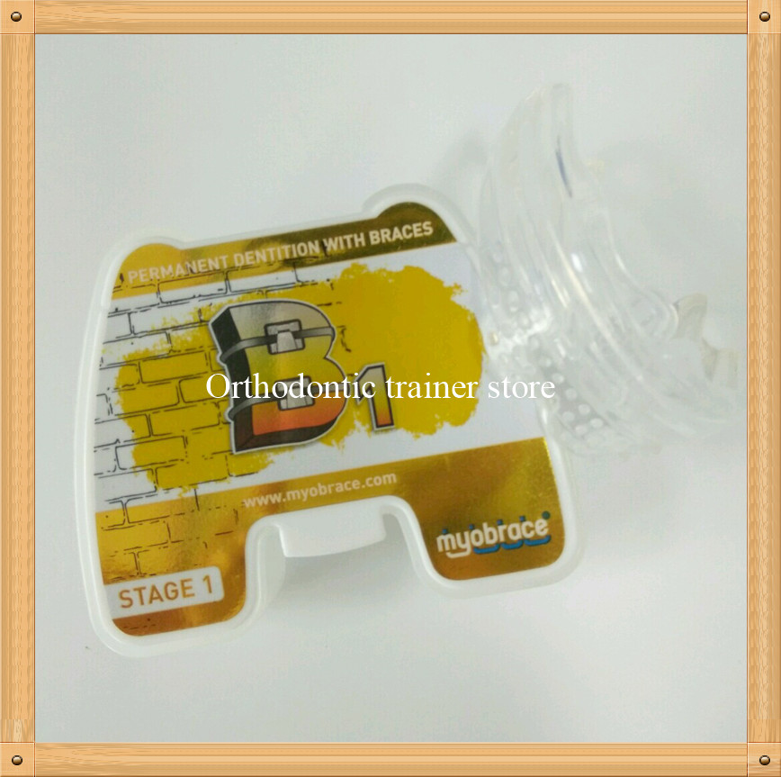 Orthodntic Teeth Brace B1/orthodontic trainer conjunction with fixed braces/MRC Dental Orthodontic teeth retainer B1
