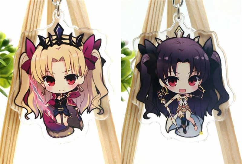Anime Cartoon Fate Grand Order Fgo Ereshkigal Acrylic Keychain Keyring Halloween Cosplay Jewelry Keychain Pendant Christmas Gift Aliexpress